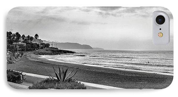 Playa Burriana, Nerja IPhone Case by John Edwards