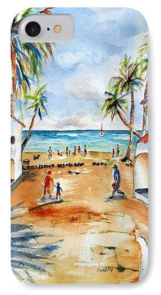 Playa Del Carmen IPhone Case by Carlin Blahnik
