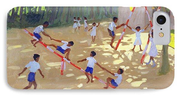 Playground Sri Lanka IPhone Case by Andrew Macara
