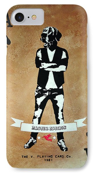 Playing Card - Master Edition IPhone Case by Vagelis Karathanasis