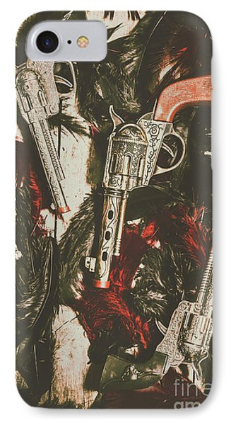 Playing Cowboys And Indians IPhone Case by Jorgo Photography - Wall Art Gallery