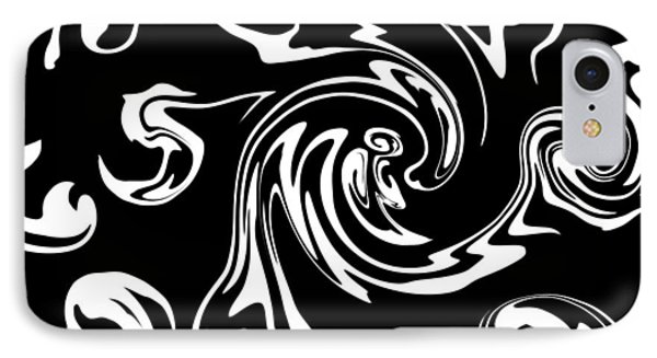 Playing Inside The Imagine Nation IPhone Case by Abstract Angel Artist Stephen K