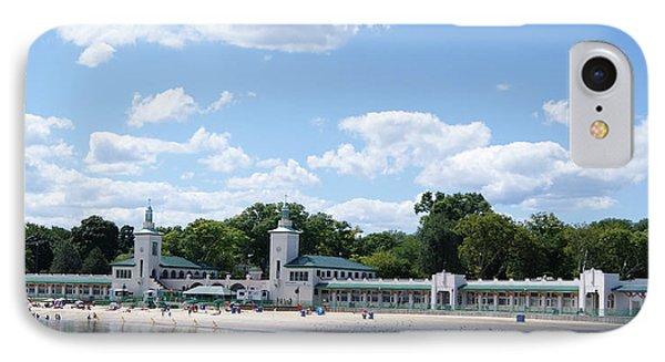 Playland Beach Boardwalk IPhone Case by Margie Avellino