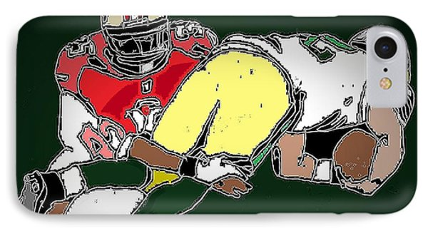 Playoffs 1 IPhone Case by Andrew Drozdowicz