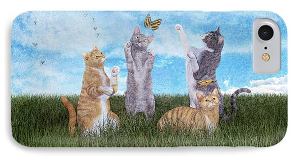 Playtime  IPhone Case by Betsy Knapp