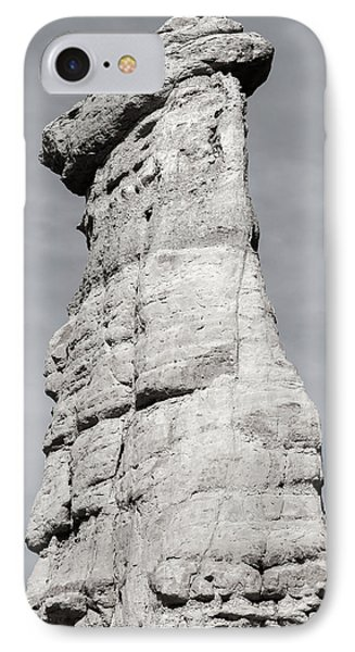 IPhone Case featuring the photograph Plaza Blanca Hoodoo by Britt Runyon