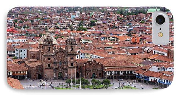 IPhone Case featuring the photograph Plaza De Armas, Cusco, Peru by Aidan Moran