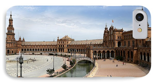 IPhone Case featuring the photograph Plaza De Espana 4 by Andrew Fare