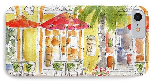 IPhone Case featuring the painting Plaza Machada Mazatlan by Pat Katz