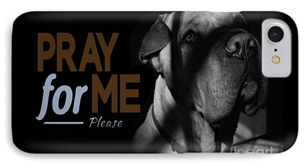 Please Pray For Me IPhone Case