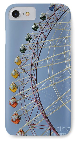 Pleasure Town Ferris Wheel IPhone Case by Andy Smy