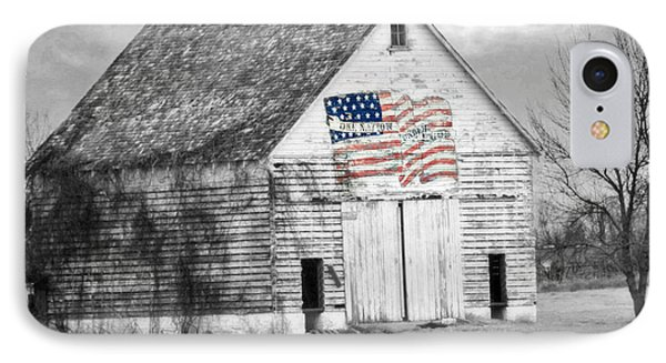 Pledge Of Allegiance Crib IPhone Case by Kathy M Krause
