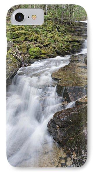 Plimpton Falls - White Mountains New Hampshire Usa  IPhone Case by Erin Paul Donovan