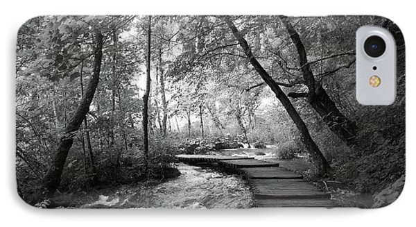 Plitvice In Black And White IPhone 7 Case
