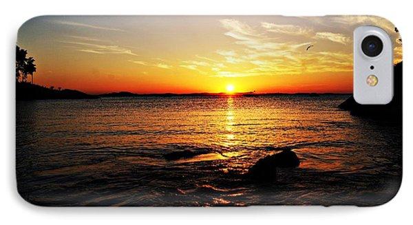 Plum Cove Beach Sunset G IPhone Case