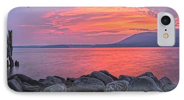Plum Point Awakening IPhone Case
