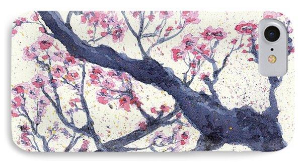 Plum Tree IPhone Case by Jennifer Gonzalez