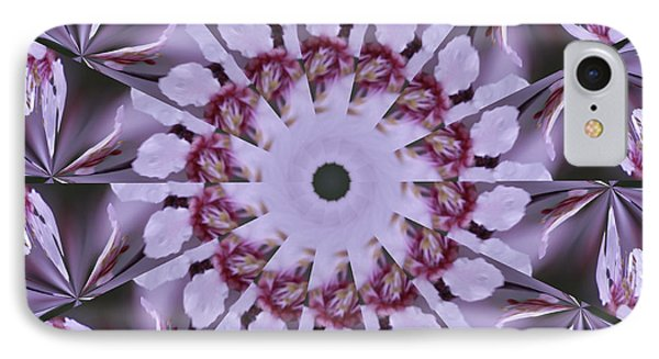 IPhone Case featuring the photograph Plum Tree Kaleidoscope by Bill Barber
