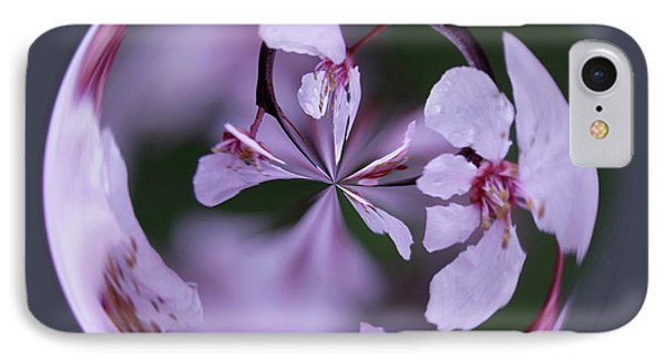 IPhone Case featuring the photograph Plum Tree Orb by Bill Barber