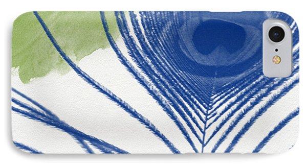 Peacock iPhone 7 Case - Plumage 3- Art By Linda Woods by Linda Woods