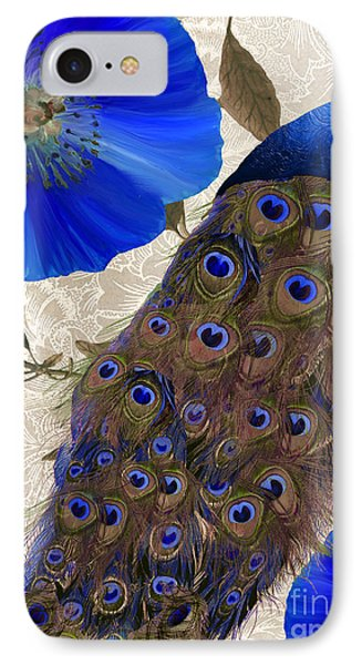 Peacock iPhone 7 Case - Plumage by Mindy Sommers