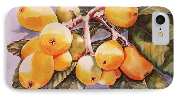 IPhone Case featuring the painting Plumb Juicy by Roxanne Tobaison