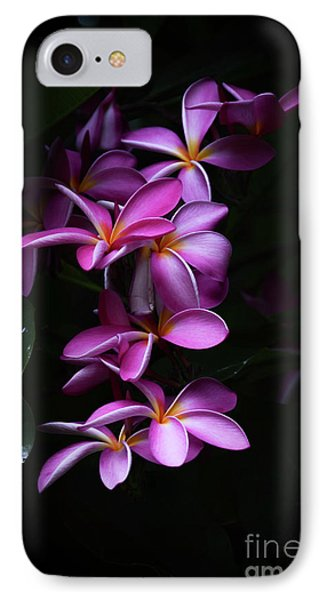 IPhone Case featuring the photograph Plumeria Light by Kelly Wade