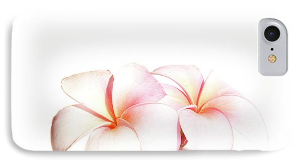 IPhone Case featuring the photograph Plumeria by Roger Mullenhour