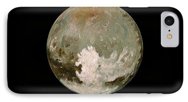Pluto Planet  IPhone Case by Juan  Bosco