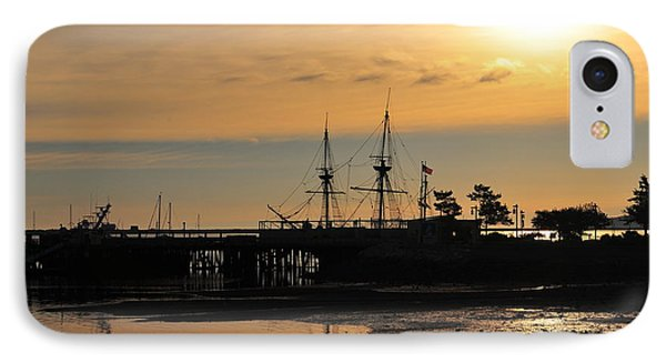 Plymouth Harbor Sunrise Phone Case by Catherine Reusch Daley