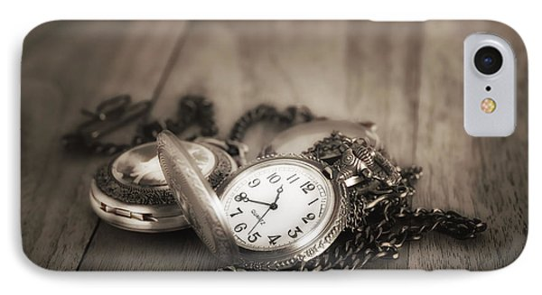 Pocket Watches Times Three IPhone Case by Tom Mc Nemar