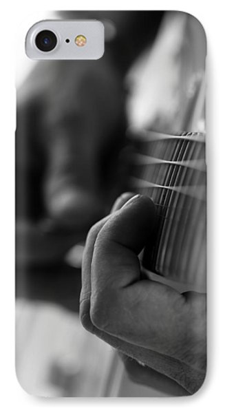 Poetry Of Sound IPhone Case by Lauren Radke