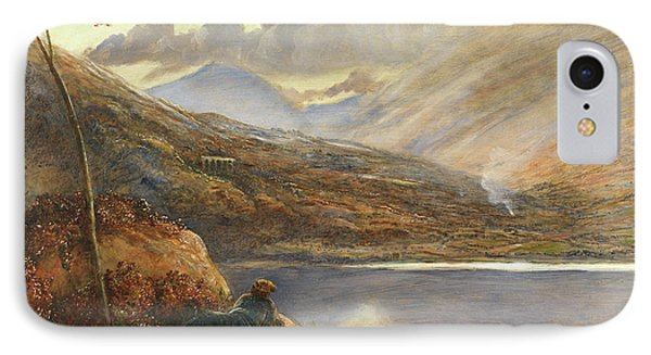 Poet's Rest Place IPhone Case by James Smetham