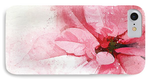 Poinsettia Abstract IPhone Case