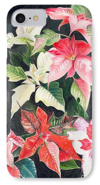 Poinsettias IPhone Case