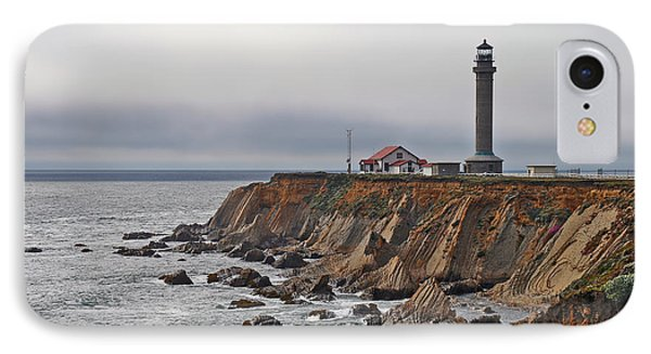 Point Arena Lighthouse Ca IPhone Case by Christine Till