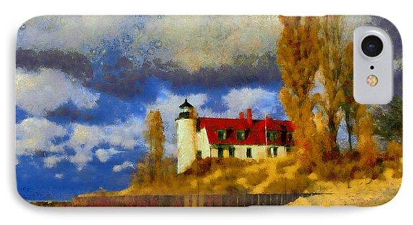Point Betsie Lighthouse IPhone Case by Kai Saarto