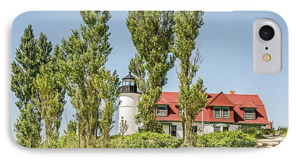 IPhone Case featuring the photograph Point Betsie Lighthouse by Sue Smith
