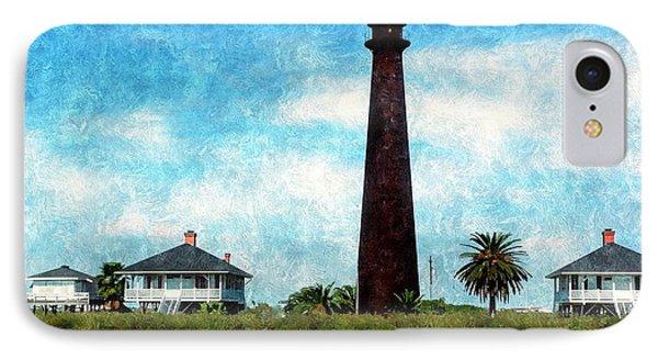 Point Bolivar Lighthouse 1872 IPhone Case