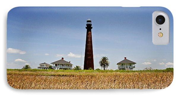 Point Bolivar Lighthouse Phone Case by Scott Pellegrin