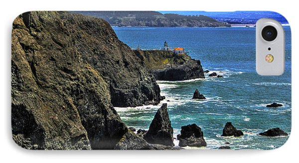 IPhone Case featuring the photograph Point Bonita Lighthouse by Richard Stephen