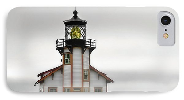 Point Cabrillo Light Station - Mendocino Ca Phone Case by Christine Till