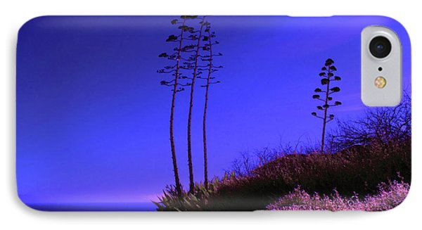 IPhone Case featuring the photograph Point Fermin In Infrared by Randall Nyhof