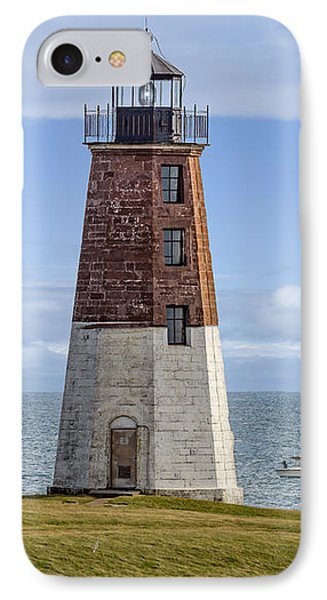Point Judith Lighthouse IPhone Case by Capt Gerry Hare