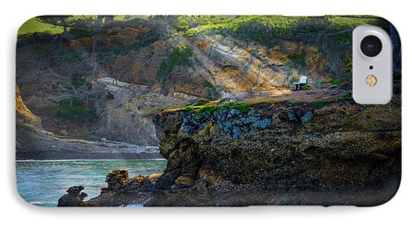 Point Lobos, Calif. A Missed Opportunity IPhone Case by Wendy Seagren