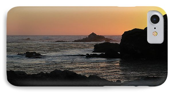 IPhone 7 Case featuring the photograph Point Lobos Sunset by David Chandler