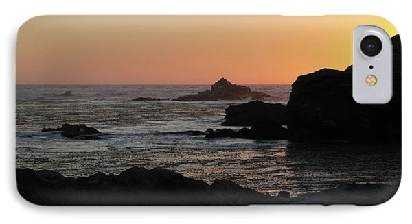 IPhone Case featuring the photograph Point Lobos Sunset by David Chandler
