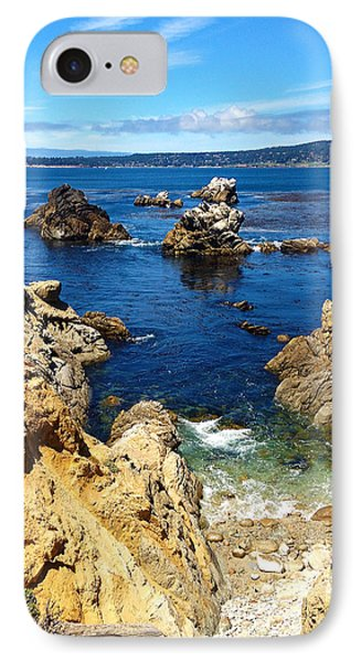 Point Lobos Whalers Cove- Seascape Art IPhone Case by Kathy  Symonds