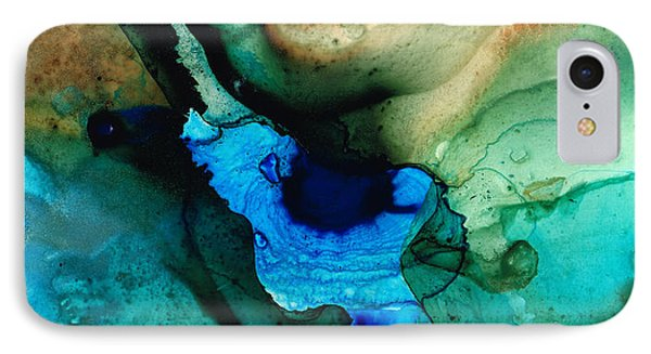 Point Of Power - Abstract Painting By Sharon Cummings IPhone Case