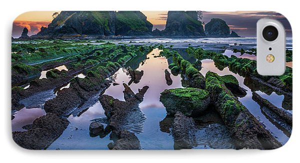 Point Of The Arches Phone Case by Inge Johnsson